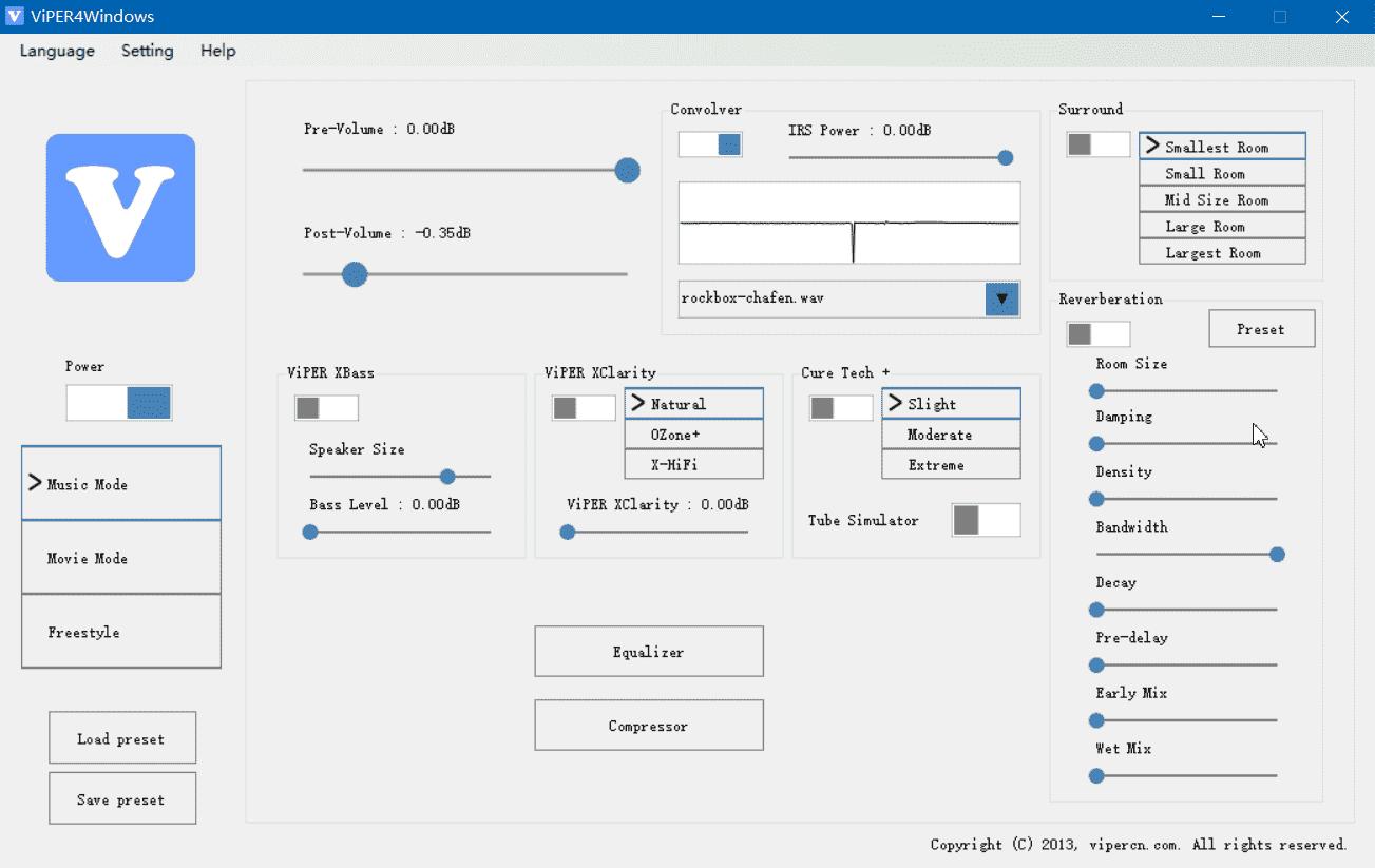 ViPER4Windows1.0.5千元震撼音效